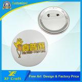 Горячий Custom металлической стороной значок кнопки олова со свинцом