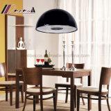 Modernes Harz-Schwarz-rundes hängendes Licht mit Wohnzimmer