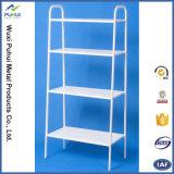 3 couches en métal blanc Organisateur étagère