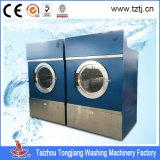 Máquina dianteira Heated do secador da lavanderia do aço inoxidável da placa do vapor/Gas/LPG/placa dos lados