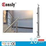 계단을%s 스테인리스 케이블 방책 Baluster 포스트 또는 현관 또는 담 또는 Baclony