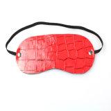 Masque pour les yeux Rouge Adulte Sex Toys Crocodile Grain Chine Bonne qualité Outil sexuel