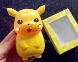 Portable Pokemon vaya Cartoon Pikachu Banco de potencia de 5000mAh