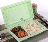 900ml 플라스틱 접히는 장방형 간이 식품 포장 상자