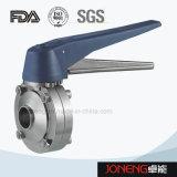 Нержавеющая сталь Гигиеническая Сварные клапан-бабочка (JN-BV2008)