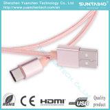 25cm/1m Cable USB de tipo C de carga rápida de cable del cargador de Sinc.