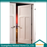 Классическая дверь трасучки панели белизны 3