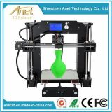 プリンター部品および印刷材料の大きい印刷のサイズのアネットA8 DIY 3Dプリンターキット