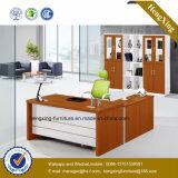 Mdf-moderner Executivform-Büro-Schreibtisch (HX-GD038A)
