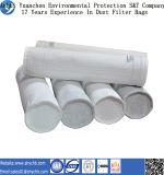 Sacchetto filtro perforato ago non tessuto del PE del filtrante per il collettore di polveri