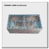 Parte di alluminio lavorante di CNC per la custodia di filtro di comunicazione