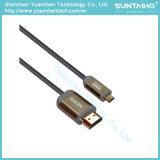 Het Type a van hoge snelheid HDMI aan de Kabel van D van het Type met Ethernet