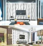 Distribuidor de papel tapiz, barato en blanco y negro hermoso papel de la pared de vinilo para paredes