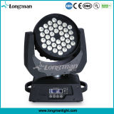 DMX Ce 36x10W RGBW 4en1 Cabezal movible LED Luz lavado