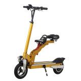 Bici pieganti elettriche portatili /Scooter del rifornimento della fabbrica con la sede del bambino