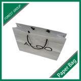 Kundenspezifischer Entwurfs-weißer Packpapier-Beutel mit niedrigem Preis