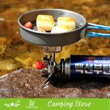 Poêle de camping portable pliable Cuisinière à essence extérieure Brûleurs à gaz Équipement de camping