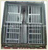 Гальванизированная сталь фермы панели загородки утюга овец ограждая оборудование