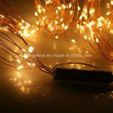 Blanco caliente micro LED de interior Luces Multi fiesta de Navidad Rama secuencia de hadas