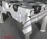 Tablecloth impresso PVC novo do teste padrão do projeto LFGB com revestimento protetor de Spunlace