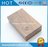 La insignia de encargo desapareció el rectángulo de madera del recuerdo de la nuez