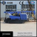 Plate-forme de forage rotatoire de puits d'eau de Jd300c
