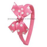 Flor de moda Accesorios de Cabello de cinta de Grosgrain Bow Hairband