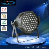 O LED à prova de venda quente PAR54 3W LED RGBW PAR54 Iluminação de palco