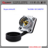 3 Pinの円ケーブル力の防水コネクターM20