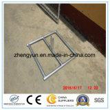Maille panneau portatif de frontière de sécurité de diamètre de 57mm x de 57mm x de 2.7mm