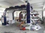 6つのカラー高精度の6つのカラーのフレキソ印刷の印字機