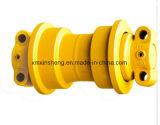 Les pièces d'excavatrice Caterpillar E70B Le galet de chenille du rouleau inférieur de pièces de châssis porteur du rouleau inférieur