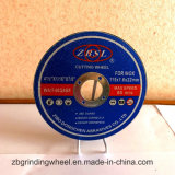 ステンレス鋼の切断ディスク115X1.6X22.2