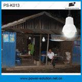 Gekennzeichnete 4W Birnen-Solarinstallationssatz-Ausgangsbeleuchtung des Sonnenkollektor-3PCS 1W SMD LED mit der Telefon-Aufladung (PS-K013)