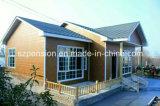 Casa de la alta calidad del bajo costo de Peison/chalet móviles prefabricados/prefabricados