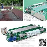 Straßenbetoniermaschine-Aufbau-Maschinerie-Gerät für synthetischen athletischen laufenden Rennbahn-Sport-Bereich-/Laufbahn-Oberflächenbodenbelag der Spur-Playground/EPDM Plastikgummi
