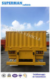40FT Utility 3 Eixo Cargo Container Sidewall Semi Truck Trailer
