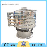 Stainless Steel Rotary Vibrating Screen Machine clouded