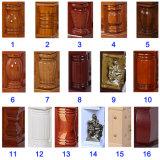Cofanetto di legno interno della Cina del velluto cinese di sconto più poco costoso