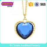 De blauwe Gouden Halsband van het Hart voor Vrouwen