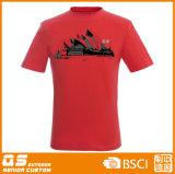 T-shirt à séchage rapide intéressant fonctionnant des sports des hommes