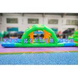 水生公園または膨脹可能な浮遊水公園のための巨大で膨脹可能な水おもちゃ