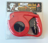 High Pulling Retractable Dog Leash com tocha 2016