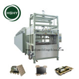 Hghy moldeado pulpa de papel Bandeja de taza de café que hace la máquina