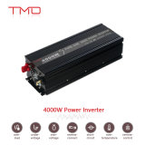 Indicador de diodo emissor de luz fora da grade 4000 inversor puro da potência da onda de seno 4kVA do watt 24V