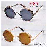 Óculos de sol especiais de metal com moldura redonda retro especial (MI216)