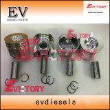 4tne106t 4tne106 Anillos de pistón camisa del cilindro Kit para las piezas del motor Yanmar