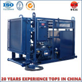 使用される油圧装置のための水力単位/端末