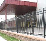 Lowes 단철 가로장 울타리 직류 전기를 통한 철 말뚝 울타리