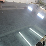 黒いミラーのArtificilalの大理石の水晶石の平板